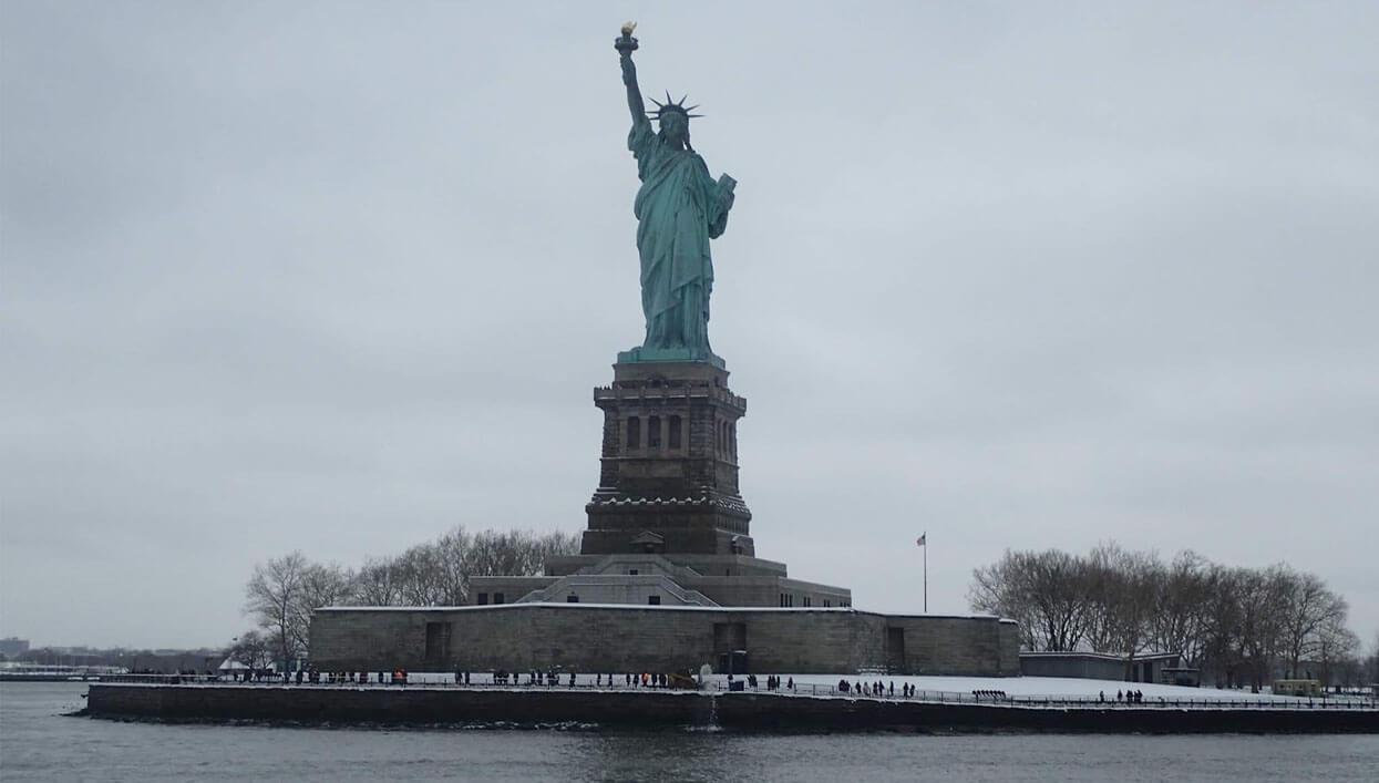 ARRANGING A TRIP TO AMERICA